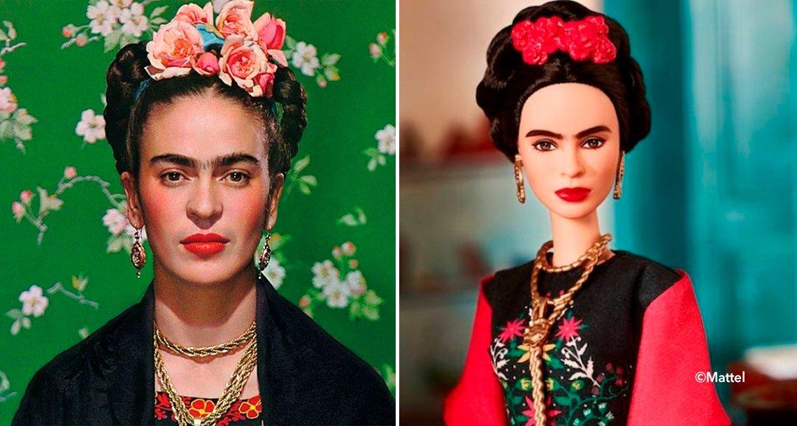 cover 4frida.png?resize=1200,630 - Barbie lanzó una muñeca de Frida Kahlo y provocó conflicto entre los familiares