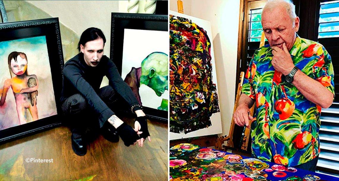 cover 4hel - ¿Podías imaginarte que estas celebridades sabían pintar? Aquí te mostraremos sus increíbles obras.