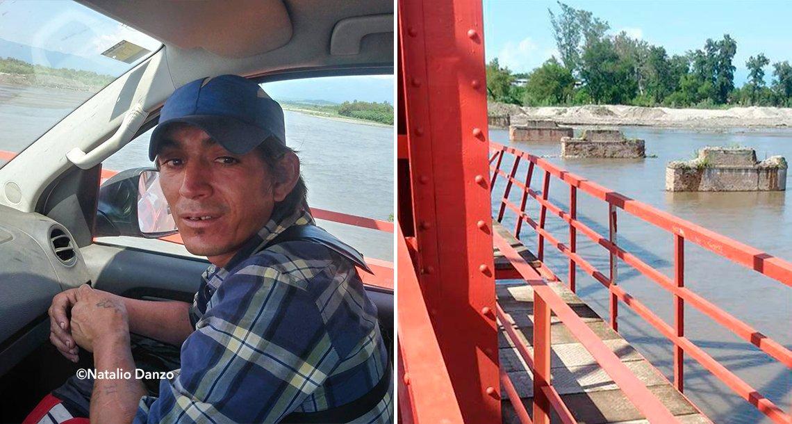 cover 4her - Un valiente trabajador se arrojó de un puente para salvar a una pequeña