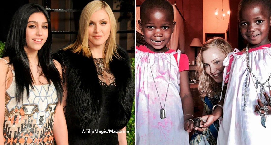 cover 4mad - La primera foto de Madonna con sus 6 hijos ha impactado al mundo… ¡tienes que verla!