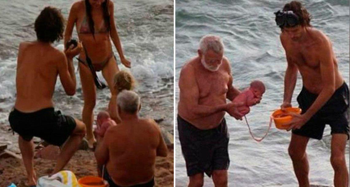 cover 4mar - Esta turista se metió al mar Rojo y dio a luz a su bebé