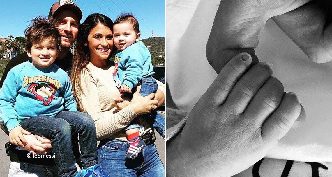 "cover 4mess - Nació el tercer hijo de Lionel Messi: ""¡Bienvenido Ciro!"""