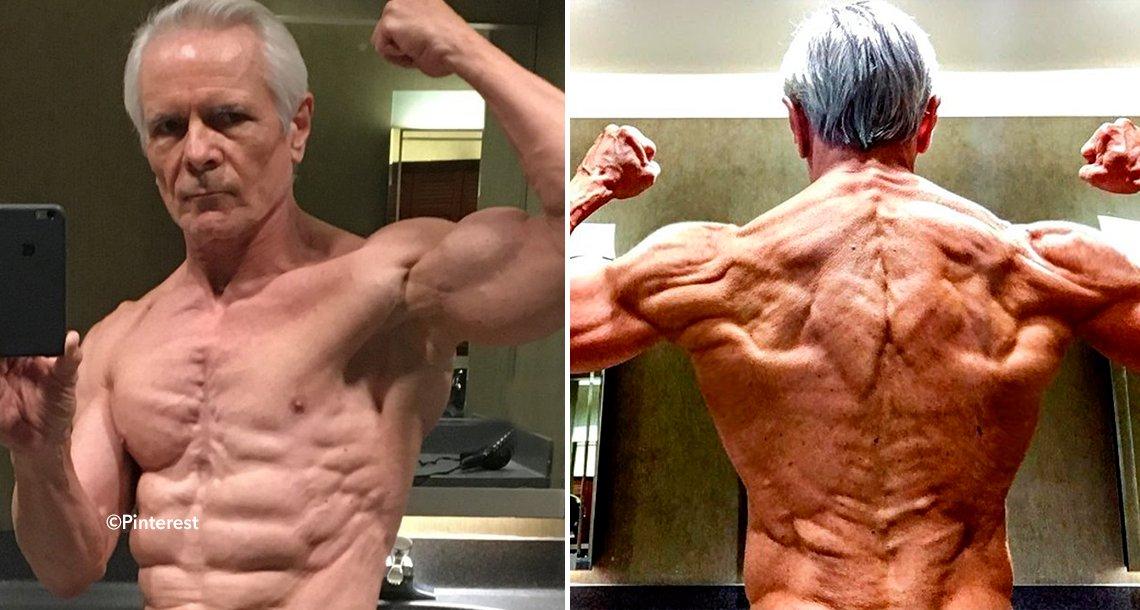 cover 4musc - Abuelo musculoso de 67 años causa furor en Internet por su increíble físico