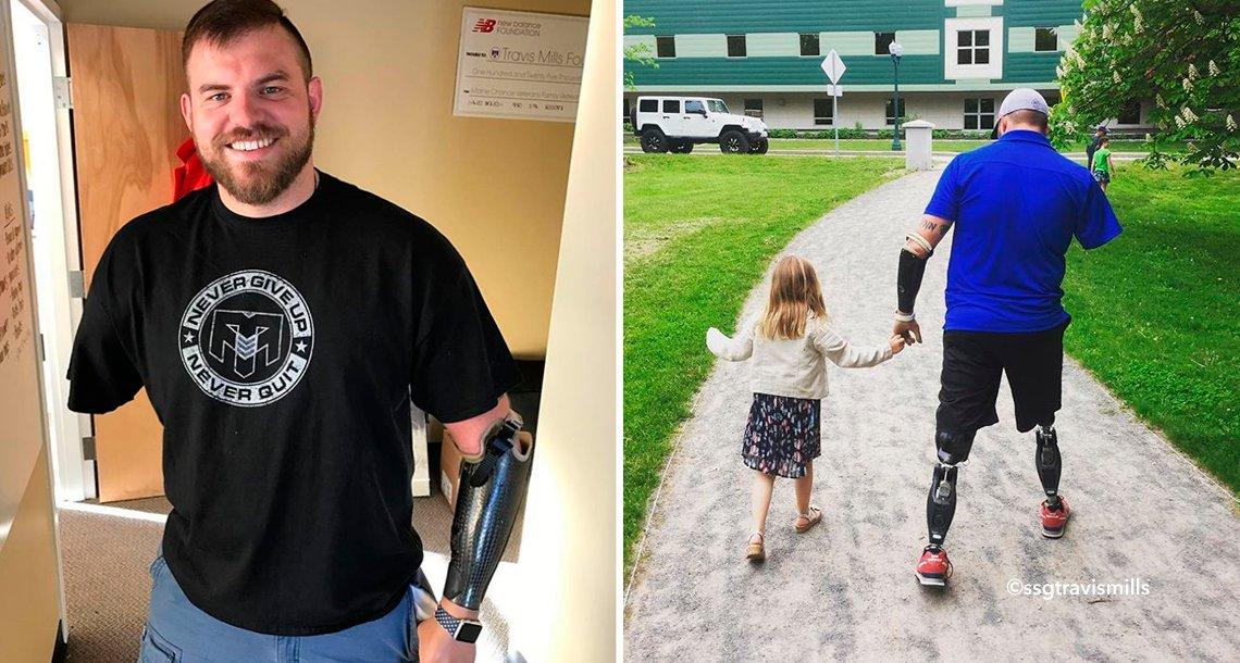 cover 4nomano.png?resize=1200,630 - Soldado y padre ejemplar perdió brazos y piernas en Afganistán, su vida es un ejemplo de fortaleza