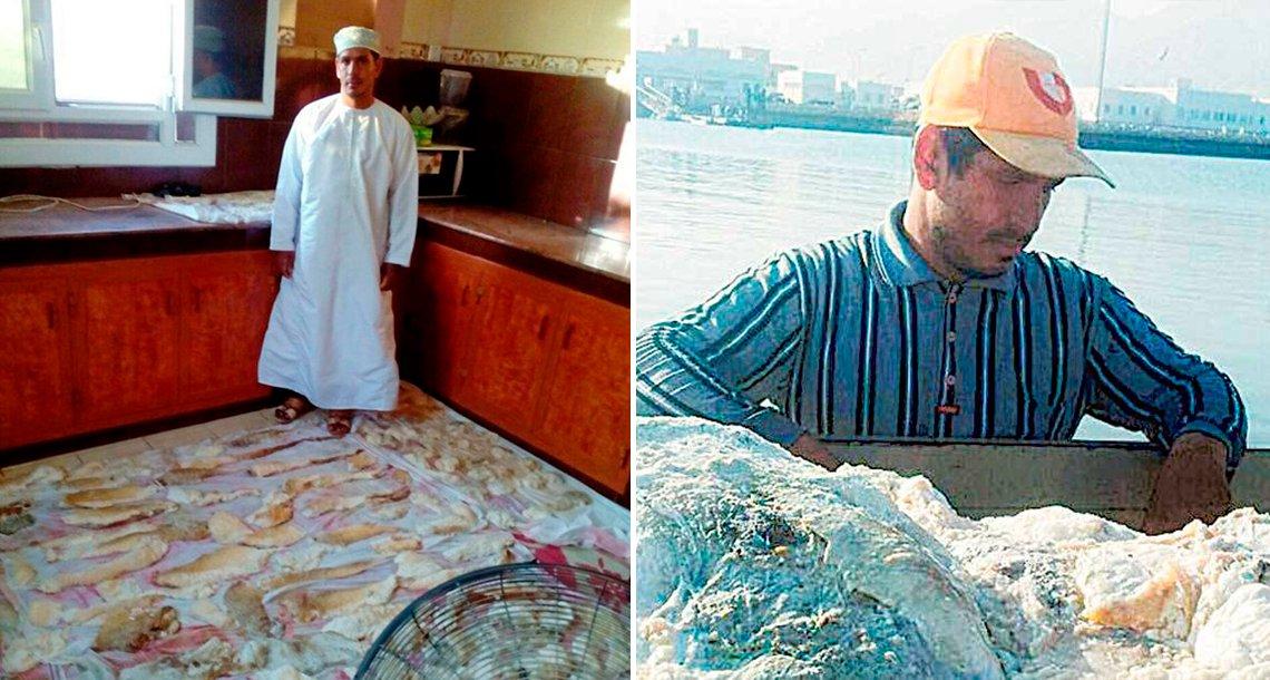 cover 4pescador - Pescador se hace millonario gracias a lo que encontró en el vómito de una ballena
