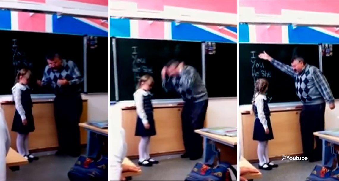 cover 4prof.png?resize=1200,630 - Un maestro de inglés reprende a una alumna frente a toda la clase, su reacción deja a todos impresionados