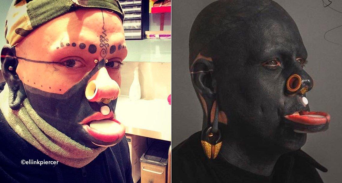 cover 4tatoo 1.png?resize=1200,630 - Adicto a los tatuajes llenó de tinta su cuerpo, incluidos los ojos y el interior de su boca