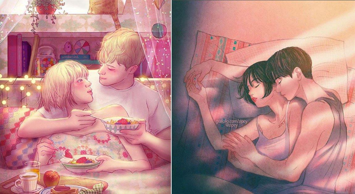 cover lover - 還是要相信愛情啊! 5位韓國插畫家筆下的微小日常幸福