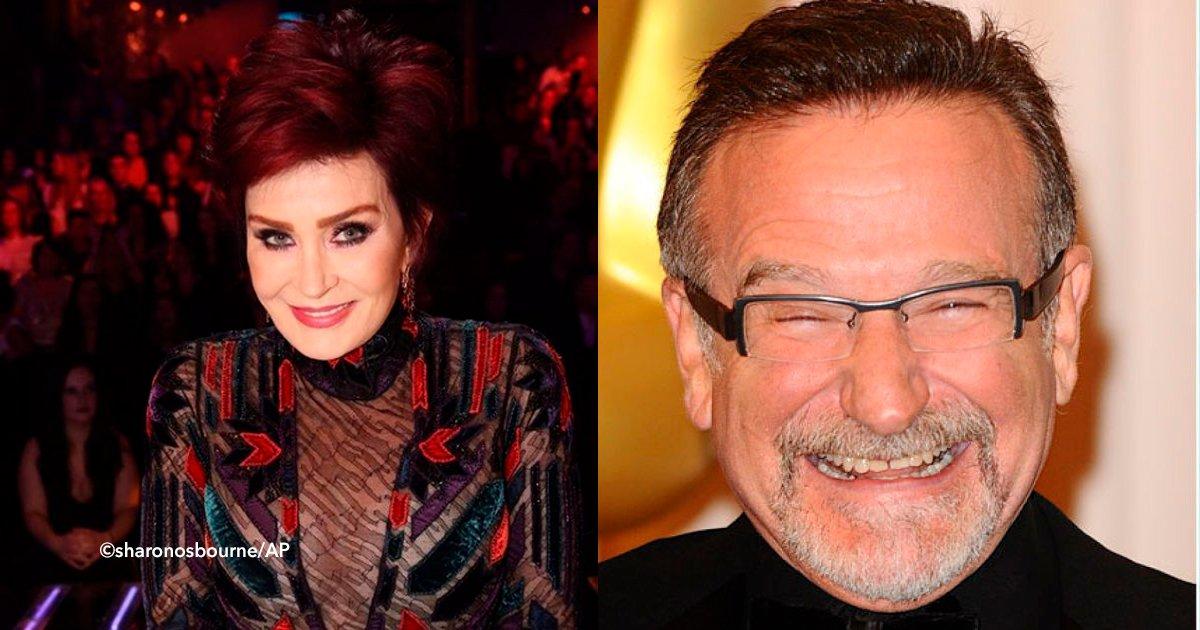 cover22ahron 1.jpg?resize=1200,630 - Sharon Osbourne não queria mais viver, mas Robin Williams a incentivou a continuar lutando contra o câncer