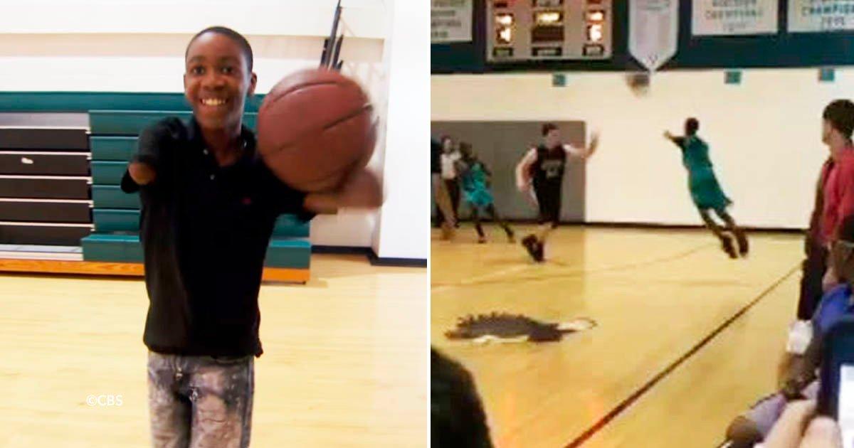 cover22basq - Este joven sin brazos juega al basquet y logra marcar tiros triples