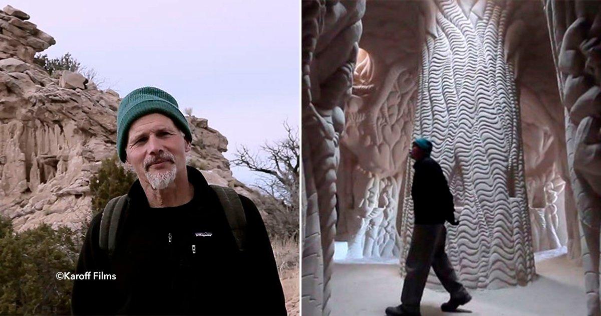 cover22cueva - Se alejó de todo y se fue a vivir a una cueva durante 25 años, pero lo que hizo sorprendió a todo el mundo