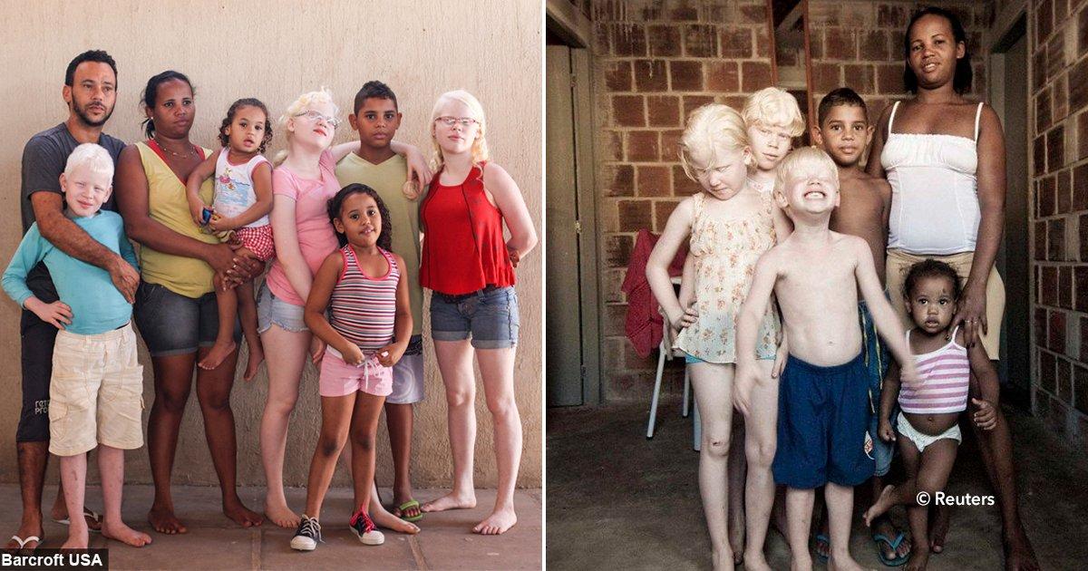 cover22kids - Madre brasileña tuvo seis hijos y tres de ellos salieron blancos, rubios y de ojos celestes