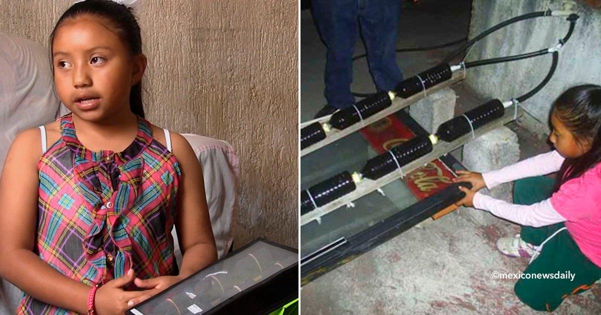 cover22nena.jpg?resize=300,169 - Ela construiu um aquecedor de água com material reciclável e movido a energia solar, tem apenas 8 anos e foi premiada por sua invenção