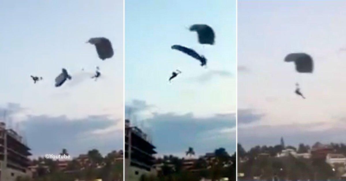 cover22pa - Una paracaidista muere al impactar con otro en el aire