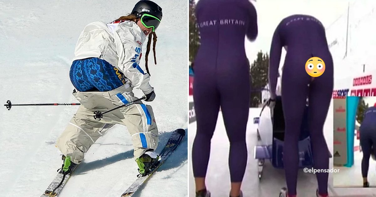 cover22vest - A estos atletas les falló el vestuario en plena competencia y quedaron expuestos ante todo el mundo