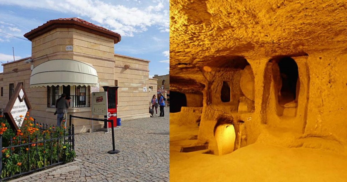 derinkuyu 1.jpg?resize=300,169 - Man Decides To Renovate His Home And Soon Discovers Lost Underground City