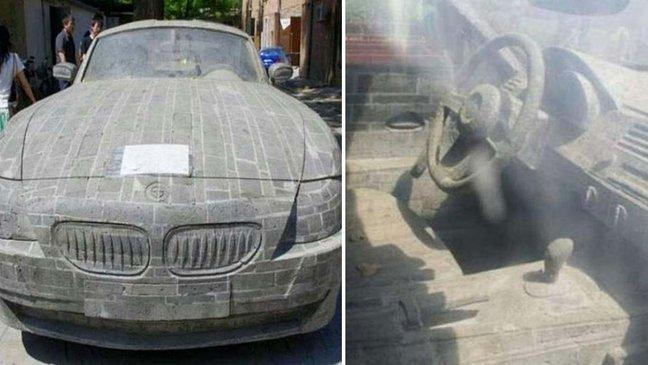 ebacb4eca09c 1 ebb3b5ec82ac 46 1.jpg?resize=300,169 - 想擁有一台BMW想瘋了!這名青年為了實踐夢想 5 年不間斷將石頭刻成名牌轎車