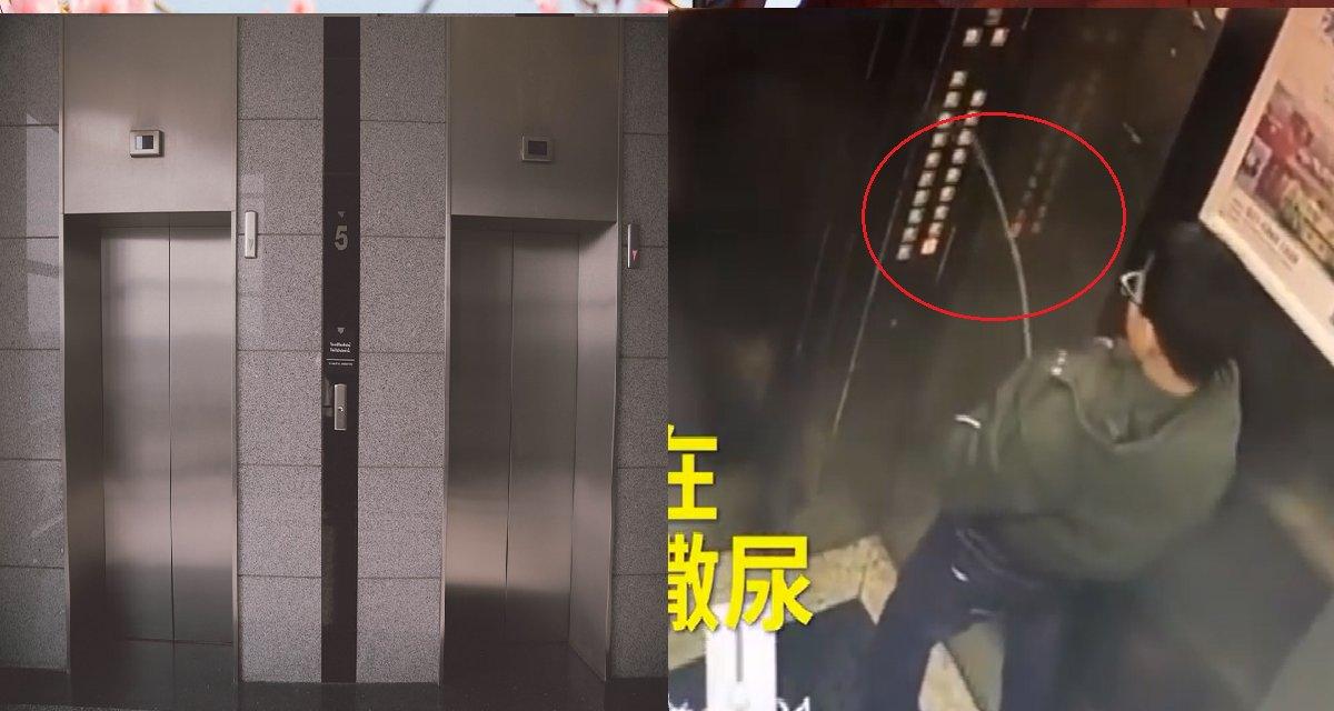 ec8db8eb84ac - Garoto tenta fazer uma pegadinha ao fazer xixi nos botões de um elevador, mas acaba ficando preso nele! (vídeo)
