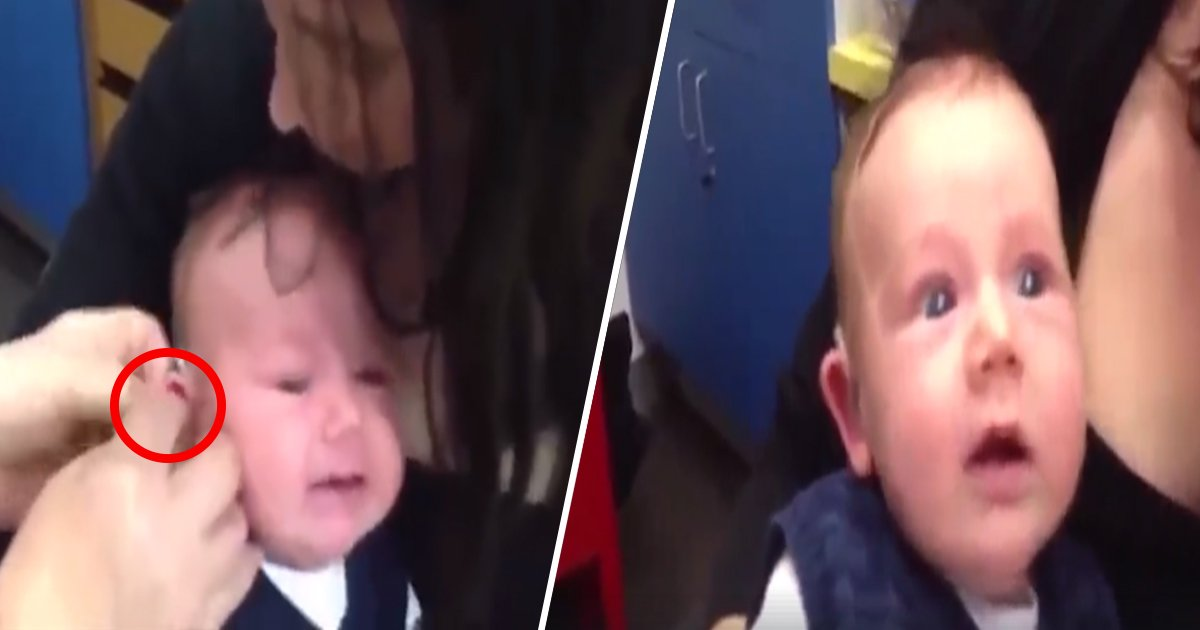 ec8db8eb84ac3.jpg?resize=1200,630 - Esse vídeo de um bebê surdo ouvindo a voz de sua mãe pela primeira vai te emocionar!