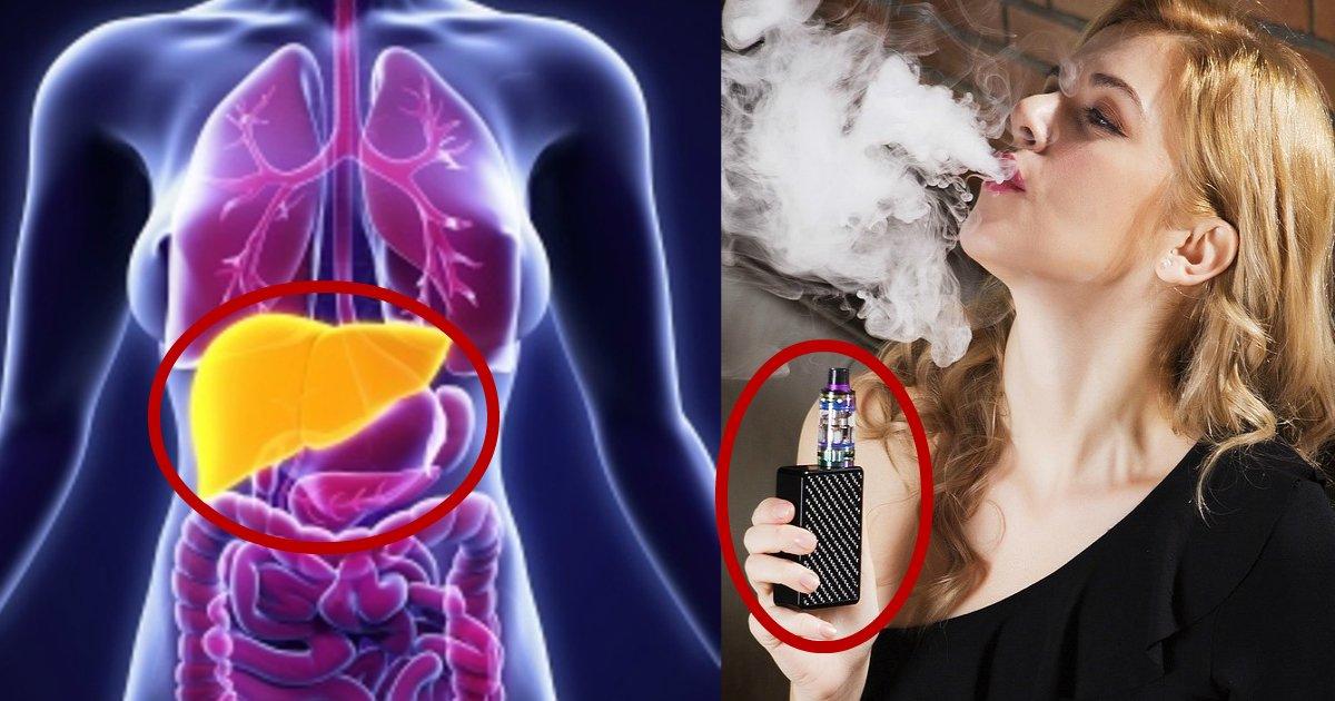 ecig.jpg?resize=1200,630 - Si vous envisagez de passer aux E-Cigarettes, vous abîmerez votre foie au lieu de vos poumons