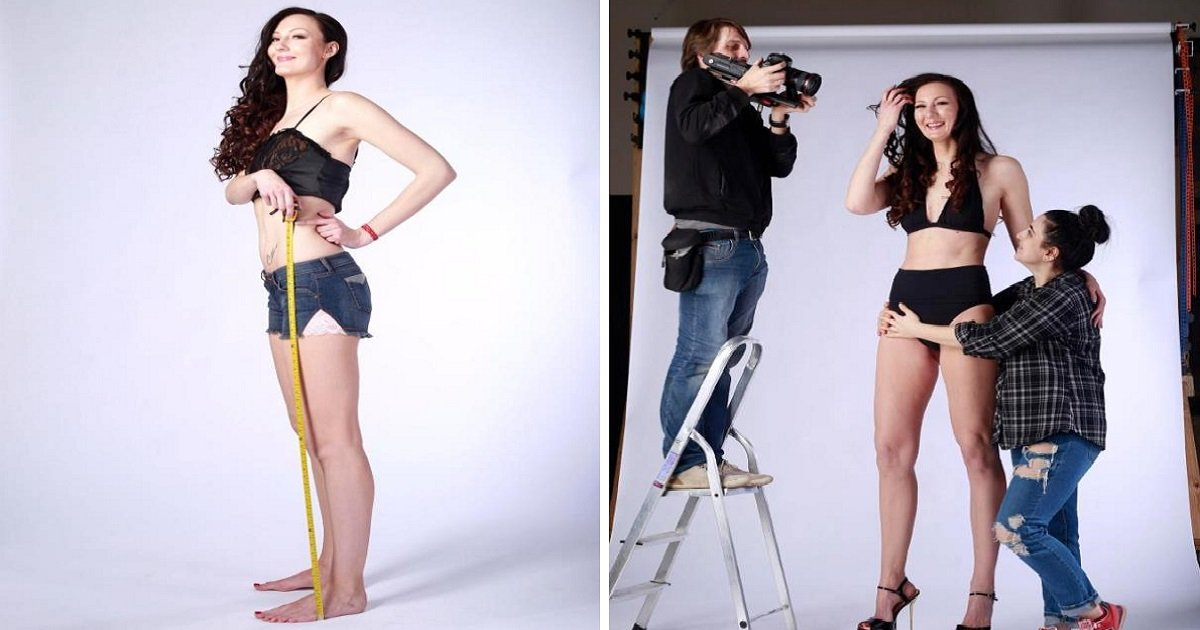 f94j.jpg?resize=1200,630 - Woman Has Height Of 6 Feet And 9 Inches, And She's Strikingly Beautiful