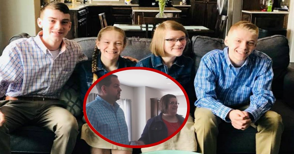 fosterparents.jpg?resize=300,169 - Quatro irmãos abusados acharam que teriam que se separar até que dois anjos decidiram levá-los todos para um novo lar!