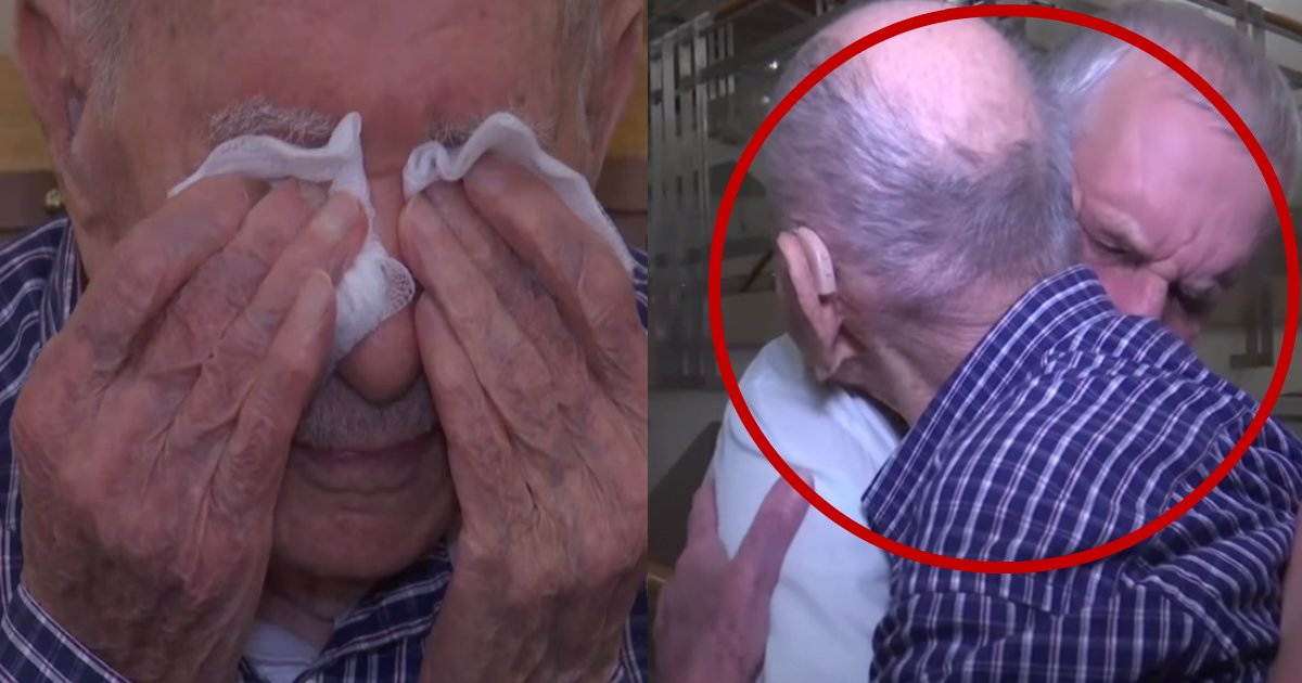 halocaustfamily - 102-Year-Old Holocaust Survivor Meets His Nephew After Believing His Entire Family Died