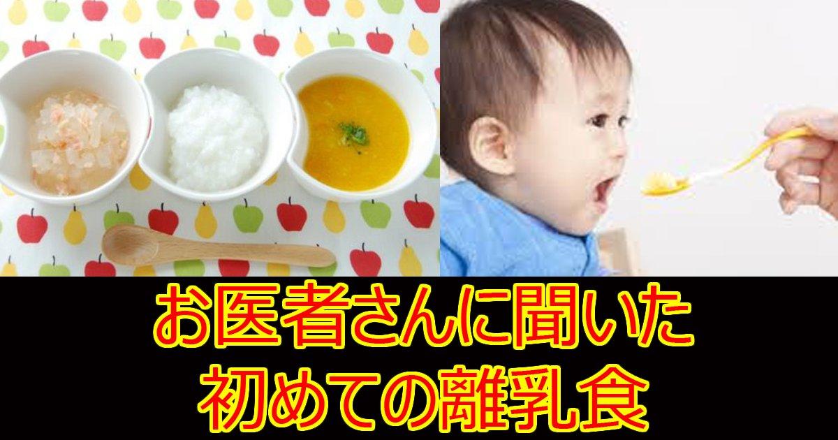 hazimeterinyusyoku.jpg?resize=1200,630 - 【お医者さんに聞いた】1ヶ月分が見たい!離乳食初期の献立メニューとスケジュール例