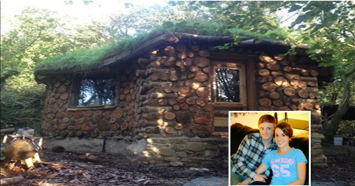 """hermithumb2 - After Aspiring Hermit Spends Savings Plus Labor Hours Creating Home, His Incredible """"Off-grid"""" Masterpiece is Revealed"""