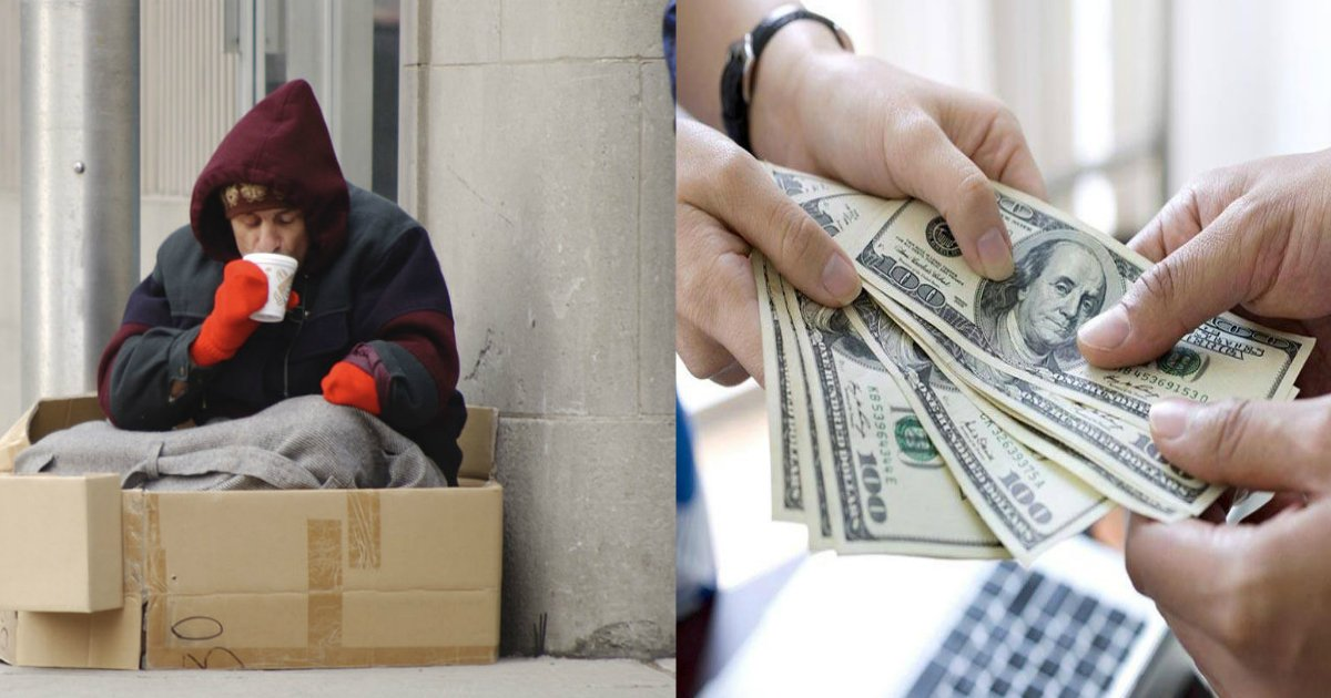 homless.jpg?resize=300,169 - O homem desabrigado vive em caixas de papelão por 3 anos até que a polícia encontra conta bancária esquecida