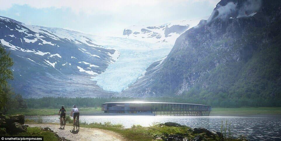 hotel svart 2.jpg?resize=300,169 - Hotel com vista para a aurora boreal tem design inspirado em nave espacial
