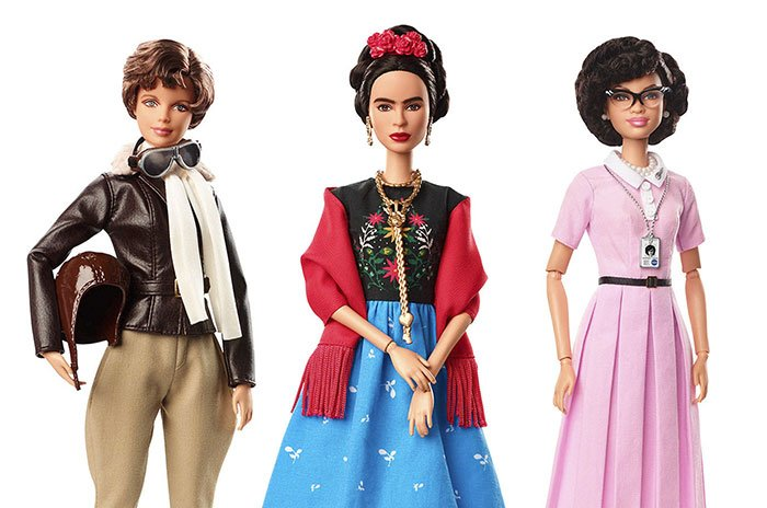 international women day inspiring role models barbie dolls 21 5a9f9afd007e9  700 - 17 New Barbie Dolls Based On Inspiring Women Unveiled, And You Definitely Can't Wait To Take Them Home