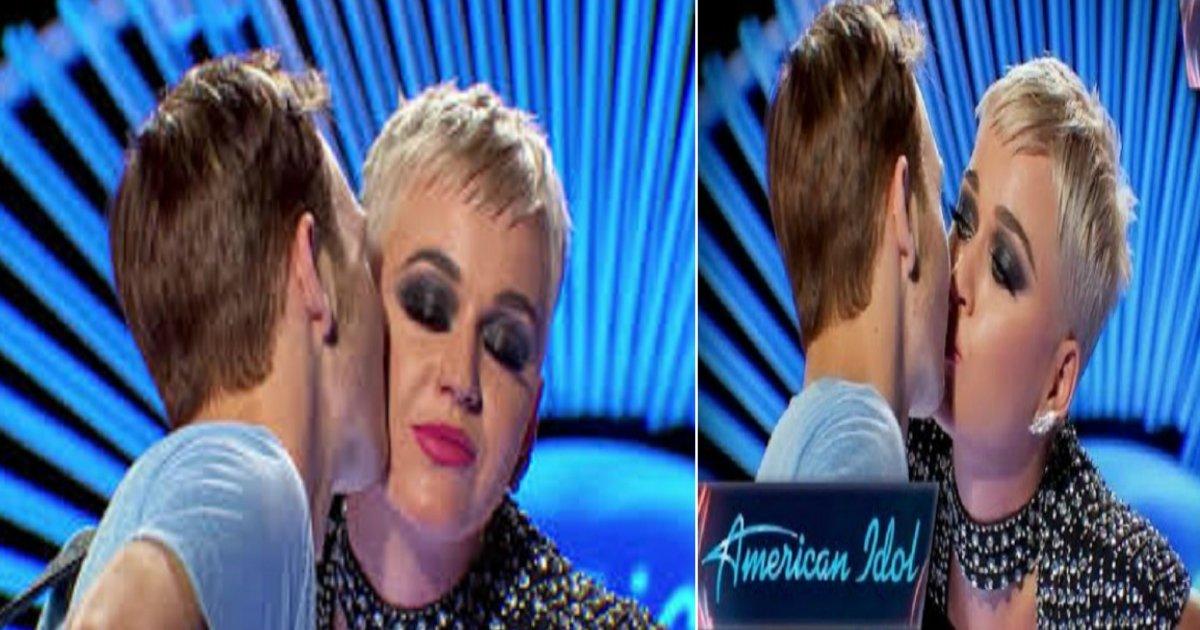 katy featured - Menino de 19 anos recebe o primeiro beijo da sua vida de ninguém menos que Katy Perry