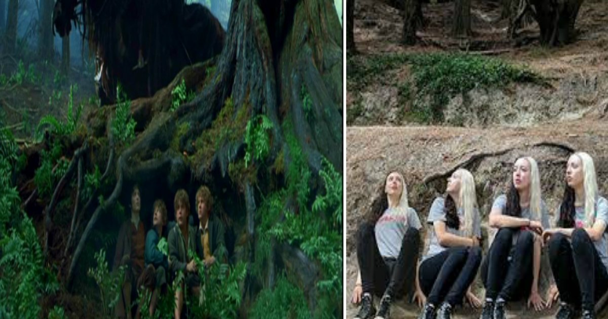 looord featured - She Visited Almost All Of The Lord Of The Rings Filming Locations And Recreated Some of The Scenes
