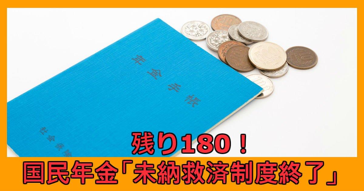 money 1.jpg?resize=1200,630 - あと180日で国民年金「未納救済制度終了」?!