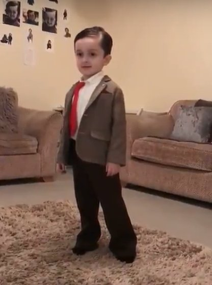 3f79ed6d5 ... little dance moves are making the people over the internet to go in a  fit of laughter. He is like the mini version of Mr. Bean. When Mr. Bean was  a kid ...