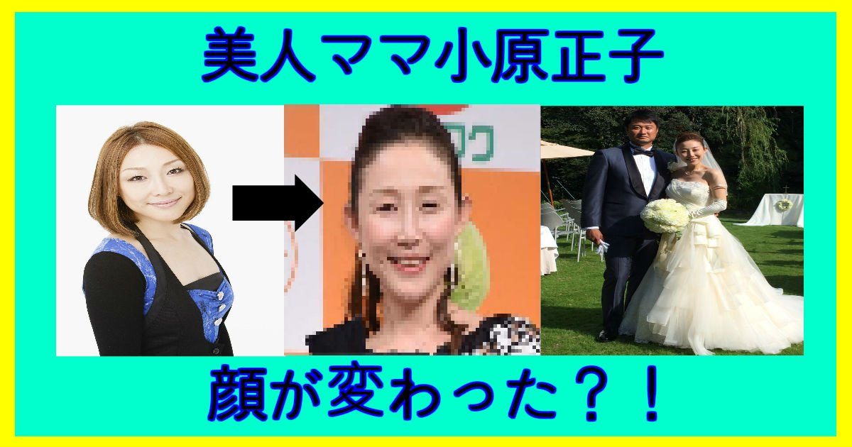 ohara - 小原正子顔が変わった?夫婦仲にも停滞中?