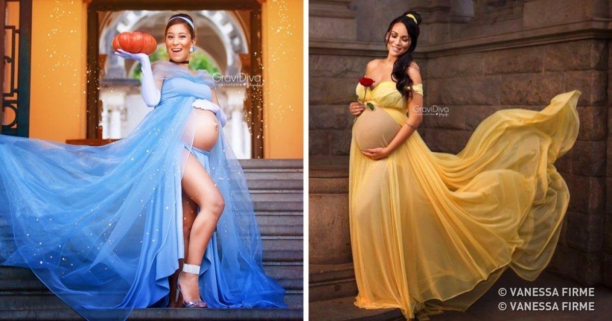 preview 13336210 1200x630 99 1519091092.jpg?resize=1200,630 - Fotógrafa brasileira transforma gestantes em princesas da Disney em suas fotos