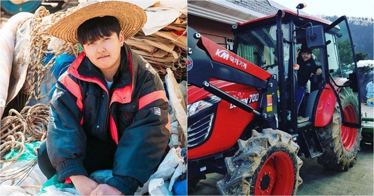 s 4.jpg?resize=1200,630 - 그렇게 노래를 부르던 새 트랙터 드디어 장만한 16살 농부