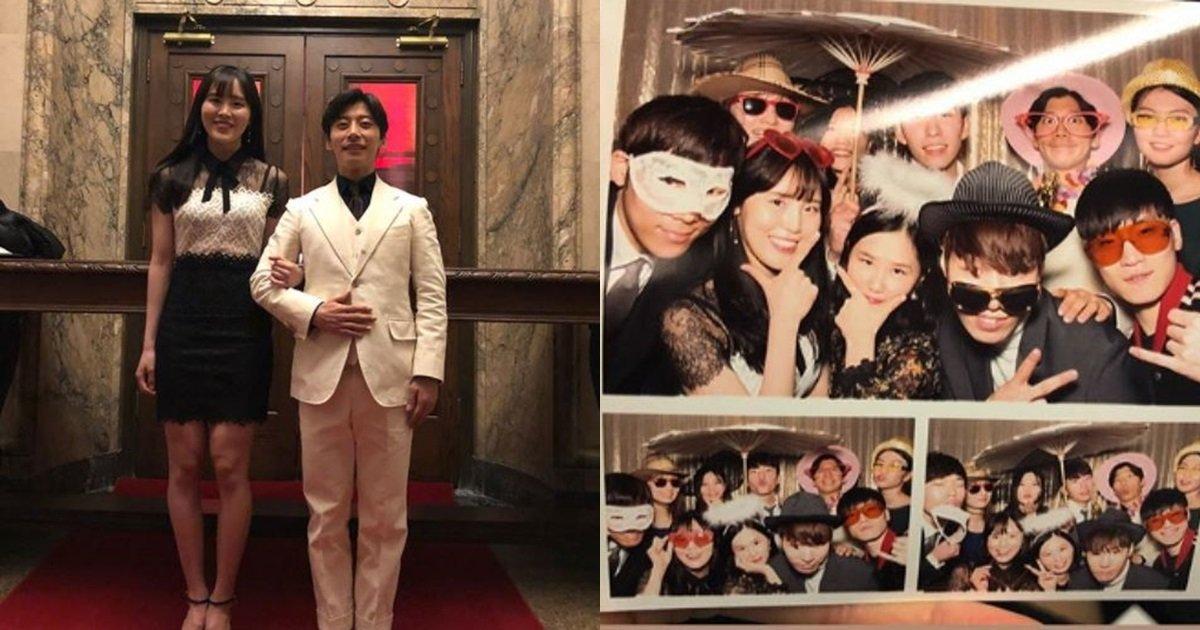 s 48 - '금빛' 질주 후 드레스, 정장 입고 파티 즐기는 우리나라 선수들