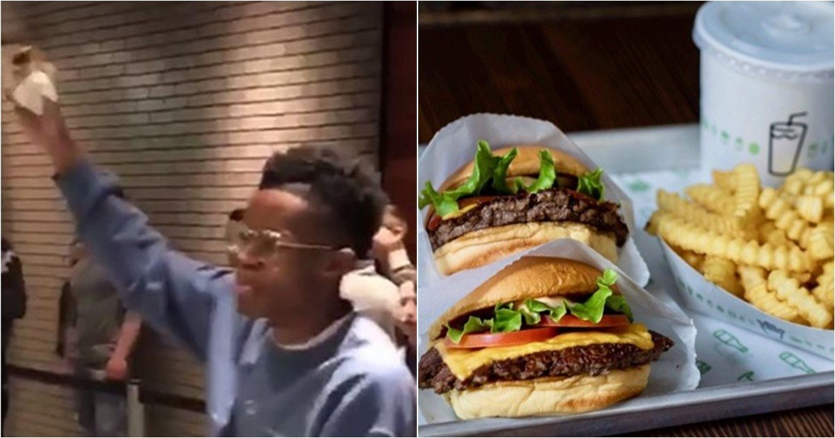 """s 73.jpg?resize=412,232 - A Man Suddenly Starts Shouting """"Who Made This Burger"""""""