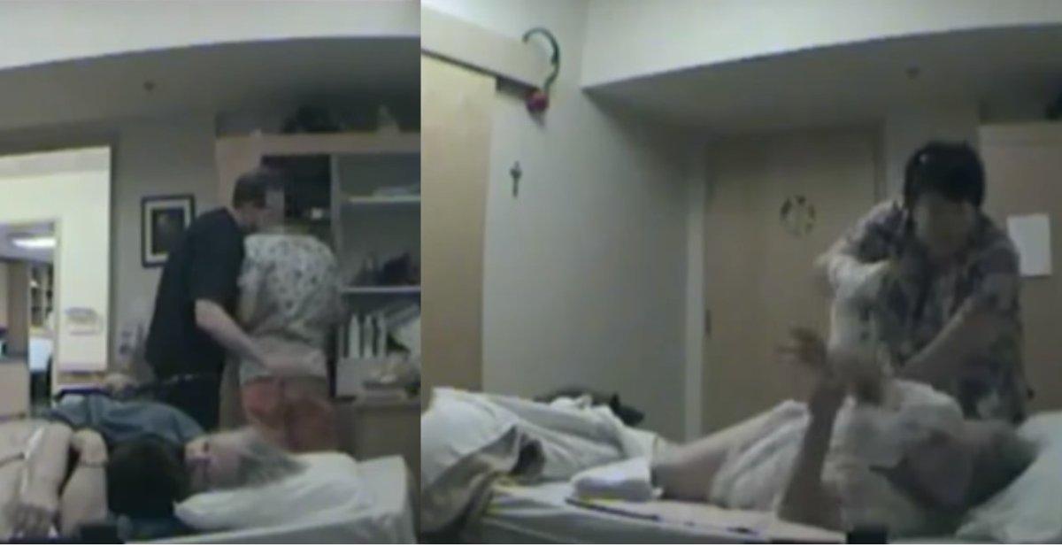 Maison de retraite la vid o choquante des mauvais for Aides pour maison de retraite