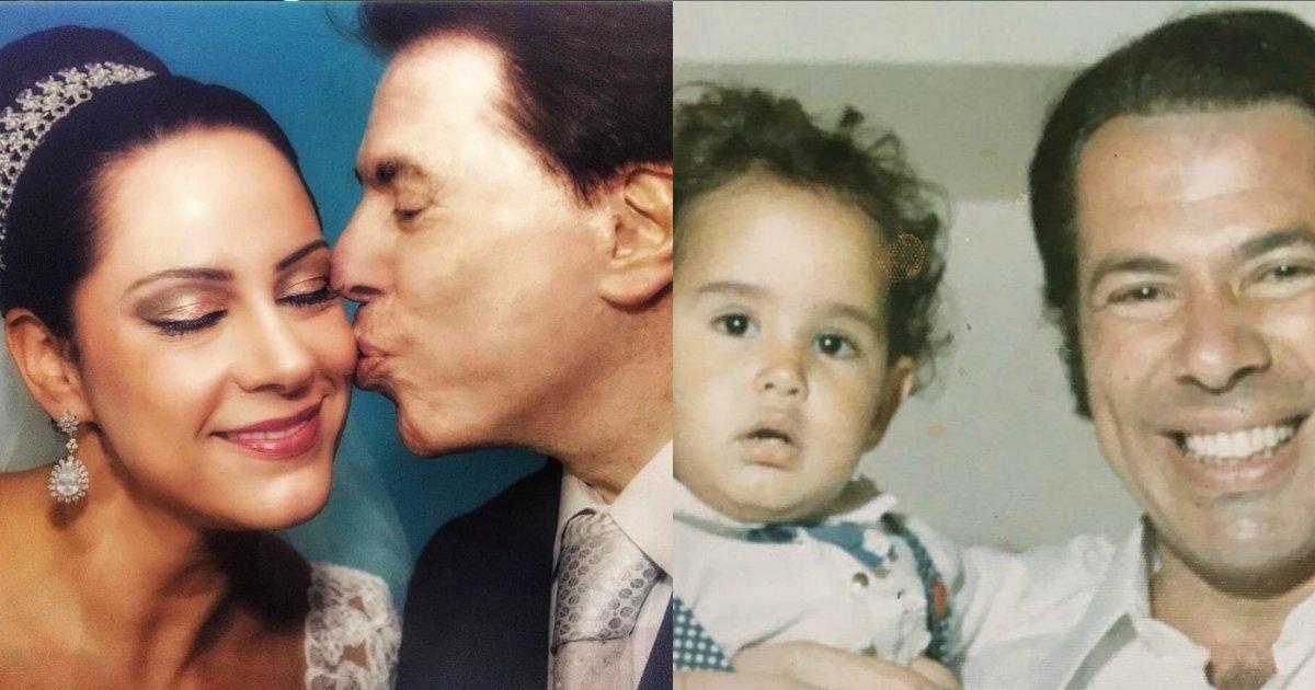 silviosilvia.png?resize=412,232 - Filha de Silvio Santos conta como descobriu que era adotada