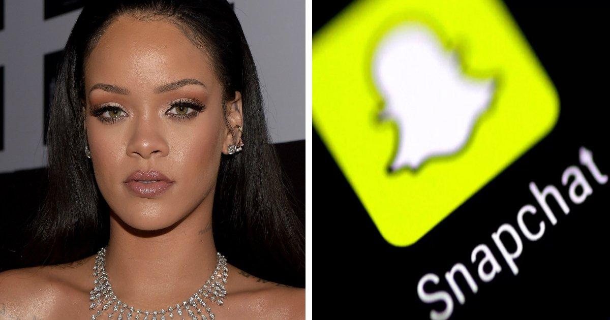 snapchat.jpg?resize=1200,630 - Rihanna causa prejuízo de milhões para o Snapchat