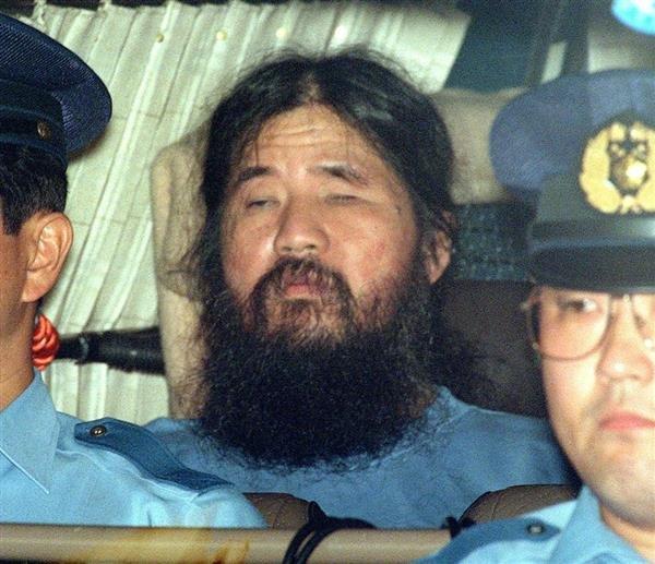 Image result for オウム真理教 1995年 松本死刑囚