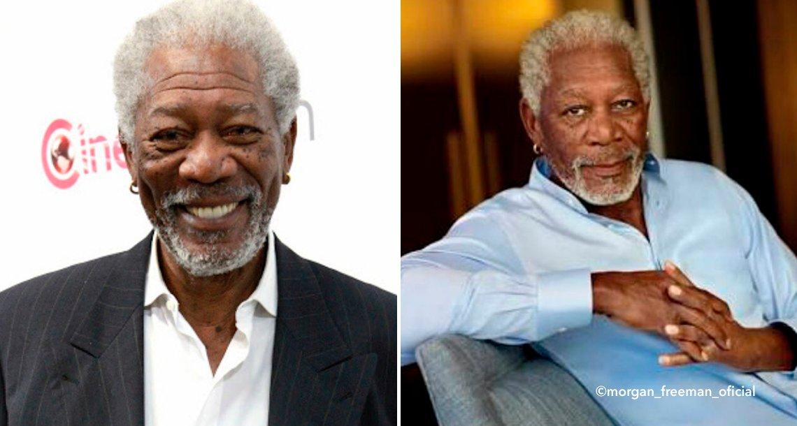 template covermorgan - Morgan Freeman padece fibromialgia, pero con un sencillo truco ha logrado salir adelante