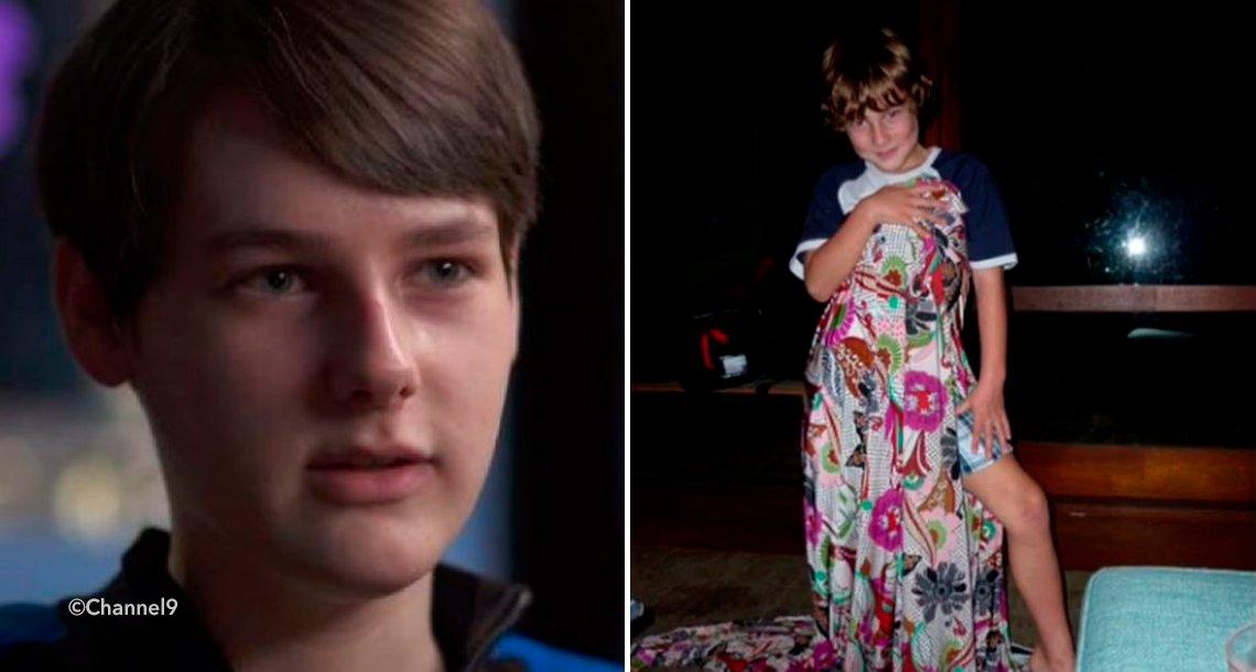 template covertrams - Este niño decidió cambiar de sexo a los 12 años pero ahora está arrepentido