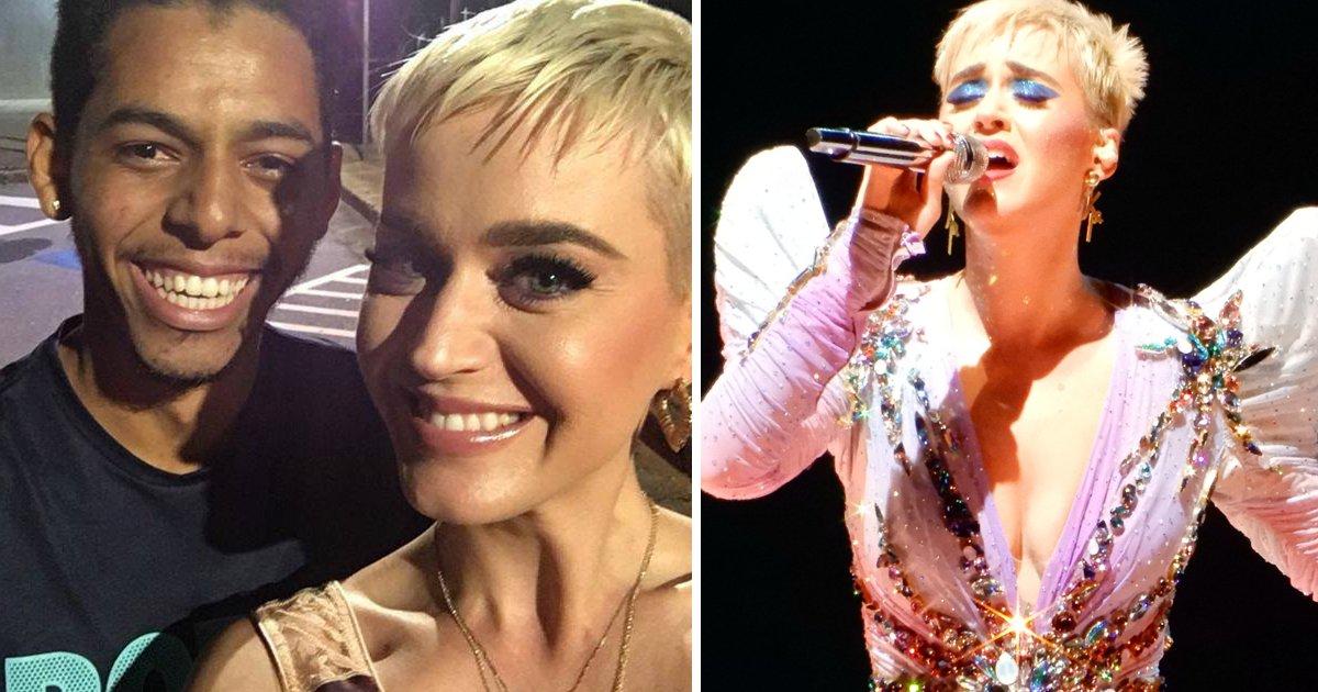 thumbnail5gaq4ttep.png?resize=1200,630 - Garoto é assaltado, mas vê sua sorte mudar ao encontrar a cantora Katy Perry - Ela até mesmo tirou uma foto com ele!