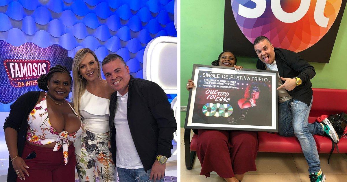 """thumbnail5gds.png?resize=1200,630 - Jojo Todynho recebe prêmio por vender mais de 240 mil cópias do single """"Que Tiro Foi Esse?"""""""