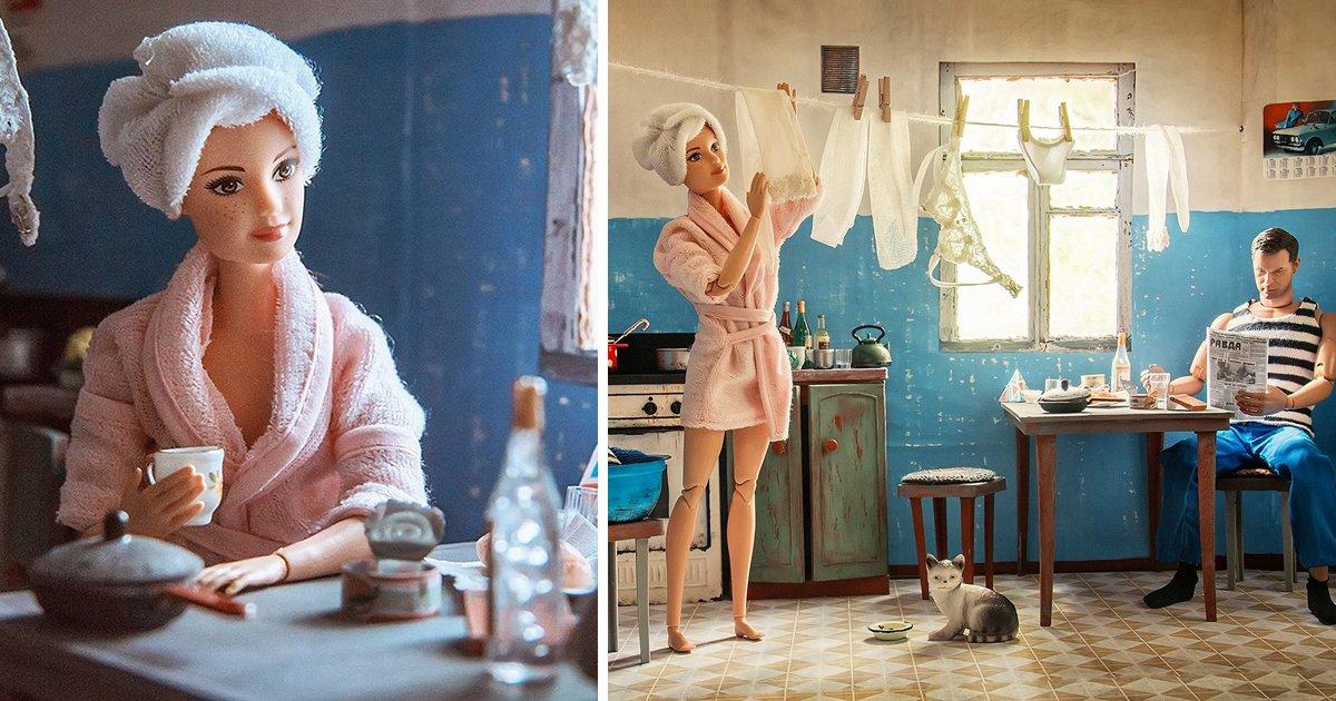 thumbnail5godad.png?resize=1200,630 - Como seriam Barbie e Ken vivendo na União Soviética?